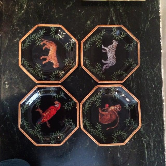 Decorative Decoupage Plates - Set of Four - Image 4 of 9