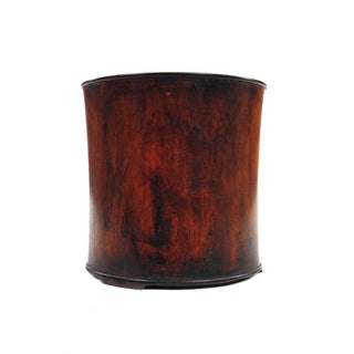 Chinese Antique Rosewood Brush Pot