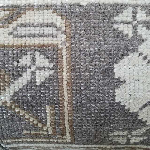 Vintage Turkish Rug Fragment Pillow - Image 8 of 10