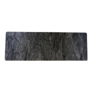 Modern Dark Gray Marble Serving Board