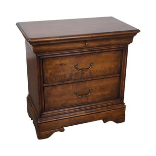 Universal Traditional Solid Maple Chest Nightstand