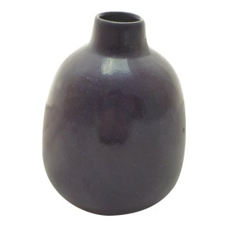 Purple Heath Pottery Bud Vase