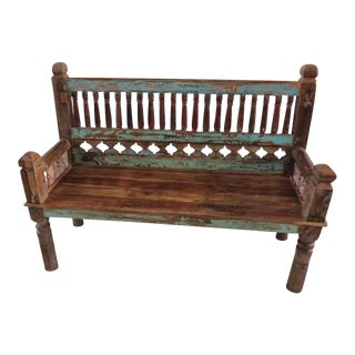 Colonial Architectural Bench