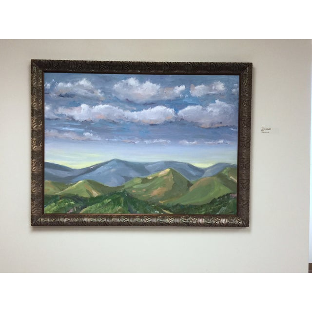 """Image of """"A Time Before Time"""" Original Landscape Painting"""
