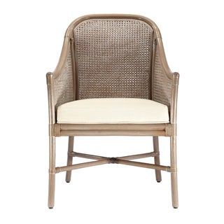 Selamat Designs Porcini Tivoli Rattan Arm Chair