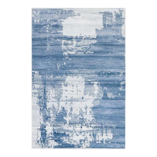 Abstract Area Rug Blue - 2′8″ × 10
