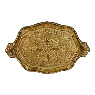 Gold Italian Style Florentine Tray
