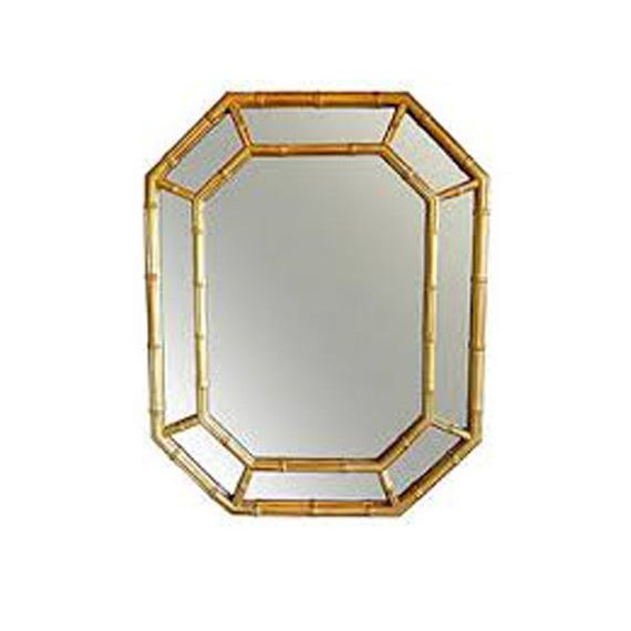 Image of Gold Bamboo Mirror