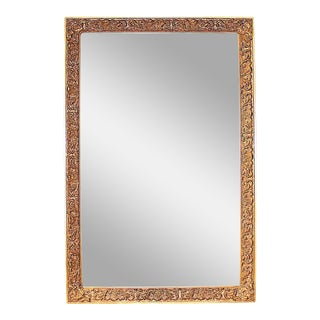 Large Vintage Gilt Mirror