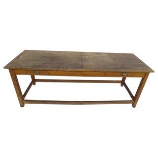 1940's Beech Wood Work Table