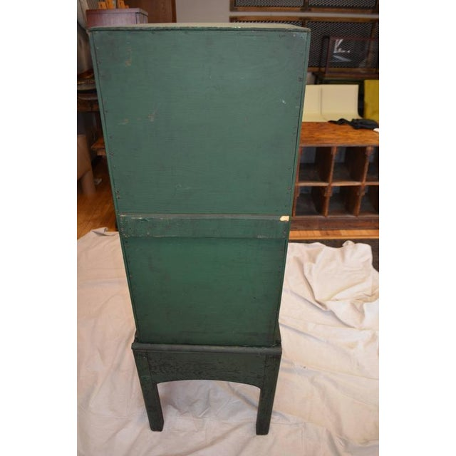 Green Painted Eight-Drawer Cabinet - Image 6 of 10