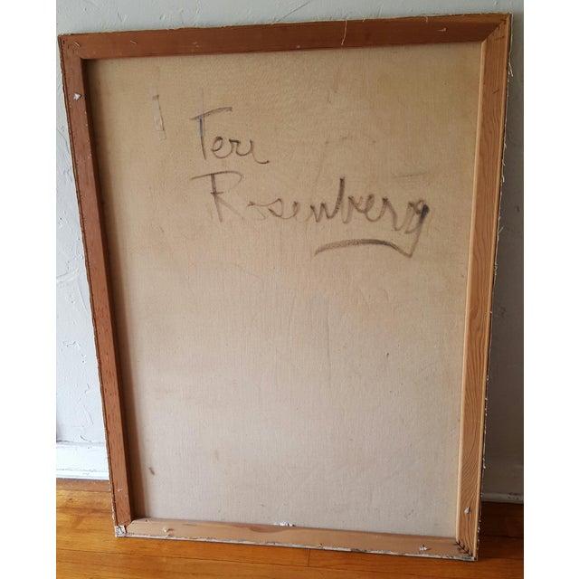 Rosenberg Ethereal Nude Painting - Image 3 of 3