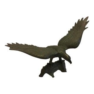 Brass Spread Winged Eagle