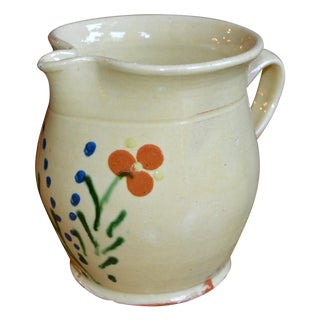 French Terracotta Pitcher