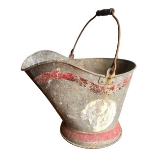 Vintage Coal Scuttle Bucket