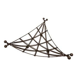 French Geometric Wire Basket