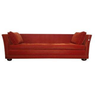 Orange Mike Bell Sofa
