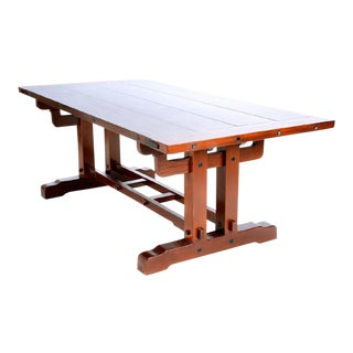 Greene and Greene-Style Refectory Table