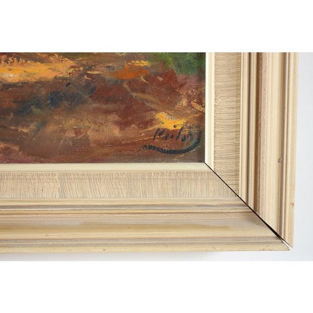 Image of Parc de Chambord Oil Painting