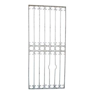 Antique Victorian Iron Gate Window Garden Fence Architectural Salvage #838