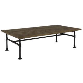 Sarreid Ltd. Coffee Table With Pipe Base