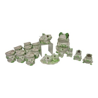 Frog Tea Set- 16 Pieces