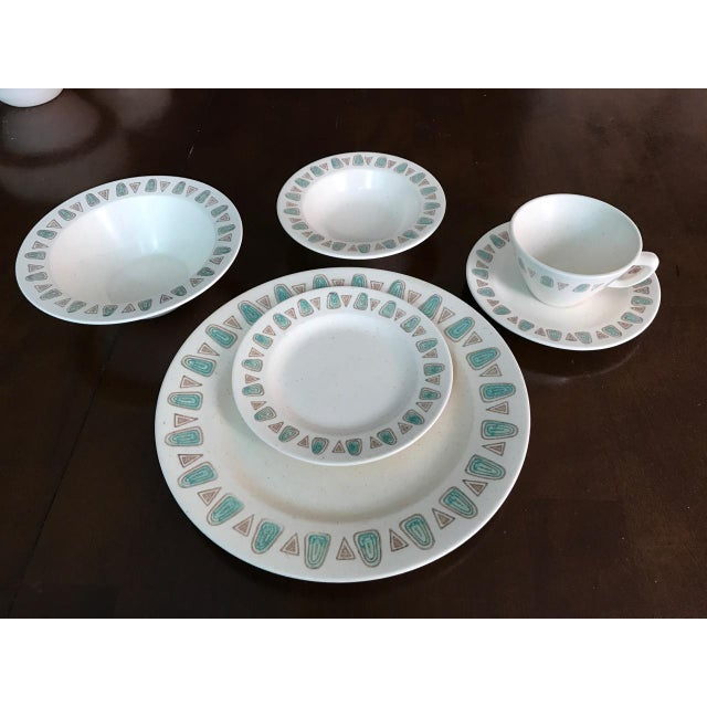 Metlox Poppytrail Navajo Mid-Century China - 48 Pieces - Image 7 of 7