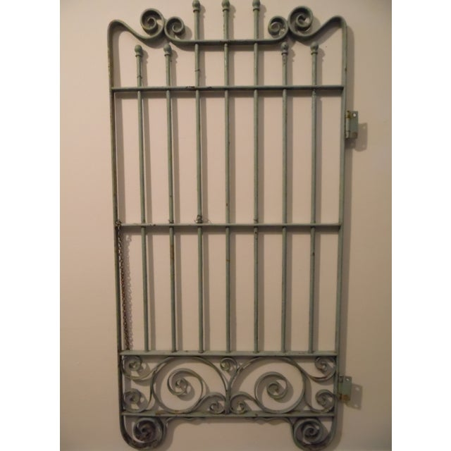 Petite Vintage French Garden Gate - Image 2 of 4