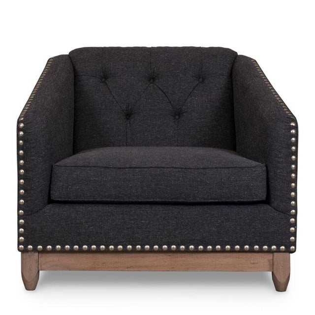Image of Sarreid LTD 'Keating' Gray Chair