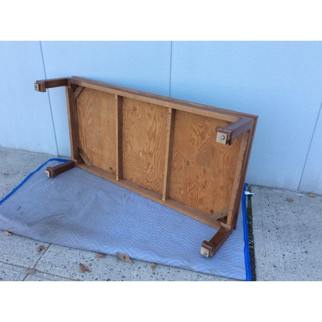1960's James Mont Style Large Coffee Table - Image 11 of 11