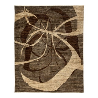 """Gabbeh Hand Knotted Area Rug - 8'1"""" X 9'10"""""""