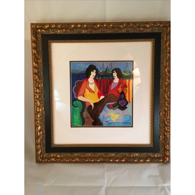 "Itzchak Tarkay ""At thePort"" Signed and Numbered - Image 4 of 9"