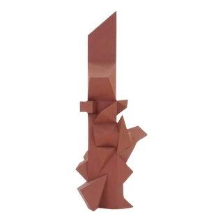 Large Irving Harper Paper Sculpture, Six Feet Tall