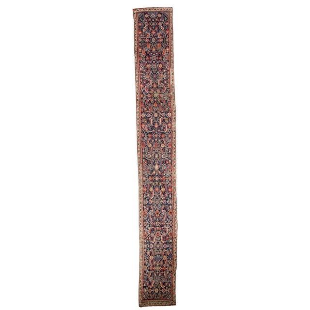 """Antique Karabagh Rug Runner - 2'2"""" X 17'4"""" - Image 1 of 7"""