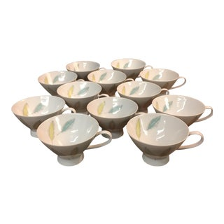 Raymond Loewy for Rosenthal Tea Cups - Set of 12