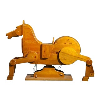 Modernist Rocking Horse from Denmark