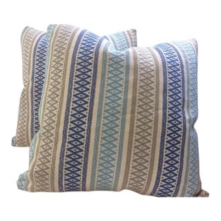 "Kravet Couture ""Toroni Seaside"" Pillows - a Pair"