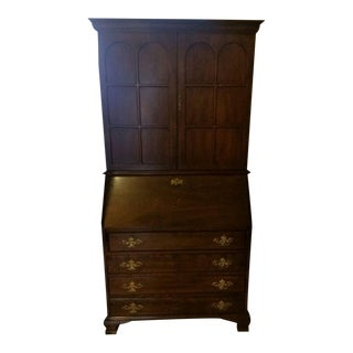 Vintage Jasper Cabinet Co. Secretary Desk
