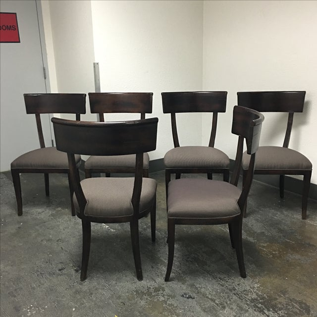 Baker Furniture Transitional Dining Chairs - S/6