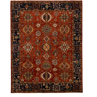 """New Traditional Hand-Knotted Rug - 8'1"""" X 10'"""