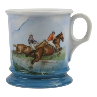 Steeplechase Porcelain Shaving Mug