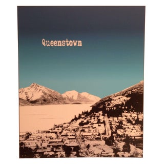 Custom Mounted Queenstown, NZ Poster