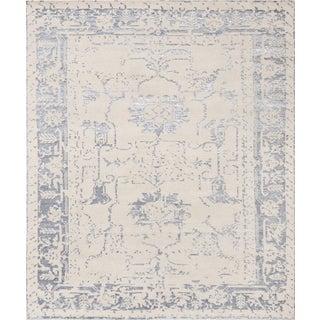 Pasargad Silk & Wool Fusion  Rug - 9′ × 12′