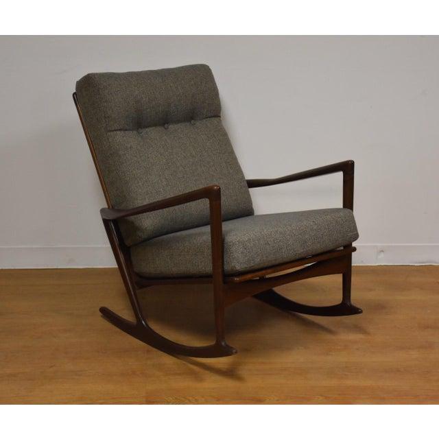 Ib Kofod Larsen for Selig Rocking Chair - Image 8 of 11