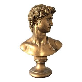 Bust of Michelangelo's David