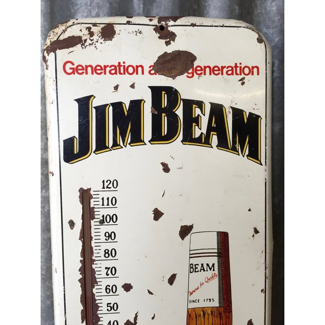 Vintage Original Jim Beam Advertising Thermometer - Image 8 of 9