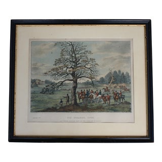 1824 Tinted Framed Engraving After Dean Wolstenholme Jr [British 1798-1882]