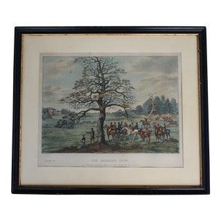 1824 Tinted Framed Engraving After Dean Wolstenholme Jr [British 1798-1882]