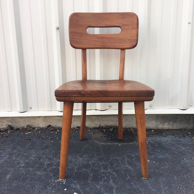 Mid-Century Walnut Chair by Boling Chair Company - Image 3 of 9