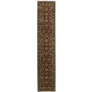 "RugsinDallas Persian Style Wool Runner - 2'6"" X 12'5"""